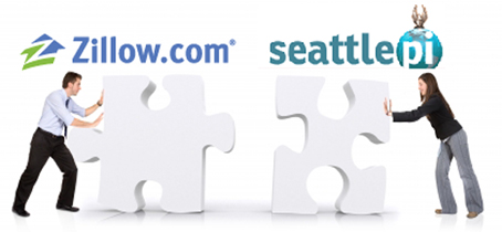 Zillow and SeattlePI business partnership