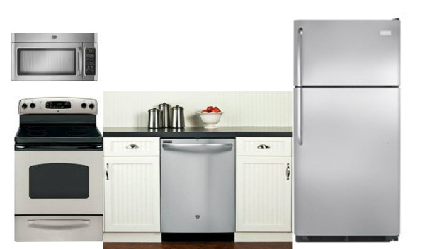 How much for stainless appliances?