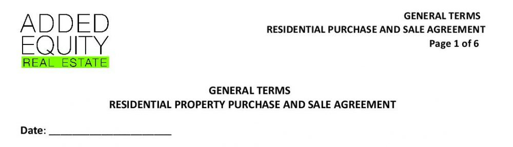 free wa real estate contract forms like this one